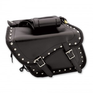 Dream Apparel Saddlebag & Accessory Studded Throwover Zip-Off Saddlebags - SD4065 | |  Hot Sale