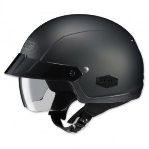 HJC IS-Cruiser Matte Black Half Helmet - 0824-0135-06 | |  Hot Sale
