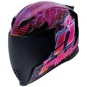 ICON Airflight Synthwave Full Face Helmet - 0101-12088 | |  Hot Sale