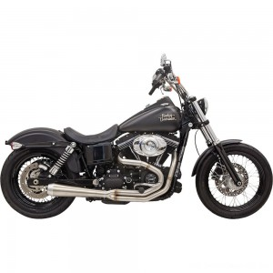 Bassani Road Rage III Megaphone Exhaust Stainless Steel - 1D1SS | |  Hot Sale