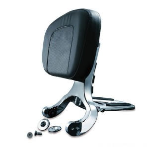 Kuryakyn Chrome Multipurpose Driver and Passenger Backrest - 1660 | |  Hot Sale