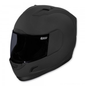 ICON Alliance Dark Full Face Helmet - 0101-6645 | |  Hot Sale