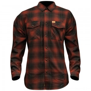 Dixxon J&P Cycles Men's The Brickhouse Flannel - JPRED-MENS-LG | |  Hot Sale