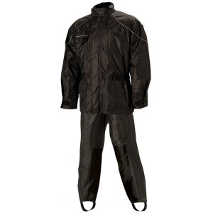 Nelson-Rigg AS-3000 Aston Black 2-piece Rain Suit - AS3000BLK04XL | |  Hot Sale