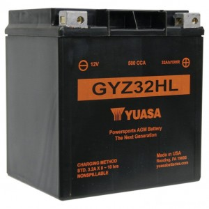 Yuasa GYZ-Series Batteries - YUAM732GHL | |  Hot Sale