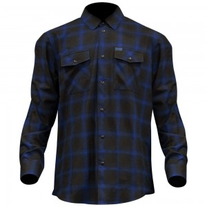 Dixxon J&P Cycles Men's The Shiner Flannel - JPBLUE-MENS-LG | |  Hot Sale