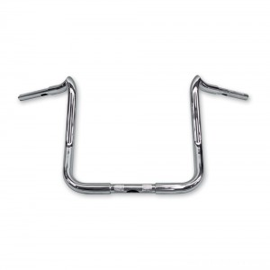 "KST Kustoms 1-1/4"" Polished 14"" Mayhem Bagger Handlebar - 2415719-TBW 