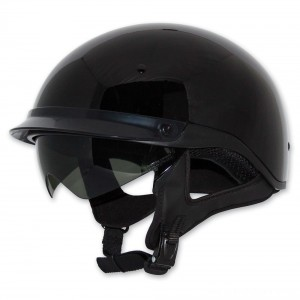 Zox Roadster DDV Black Half Helmet - Z88-00454 | |  Hot Sale