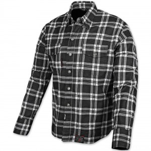 Speed and Strength Black Nine Black/White Flannel Moto Jacket - 878046 | |  Hot Sale