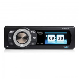 "Aquatic AV SiriusXM Ready Bluetooth Stereo with 3"" Color Display - AQ-MP-5UBT-HS 
