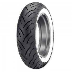 Dunlop American Elite180/65B16 81H Wide Whitewall Rear Tire - 45131150 | |  Hot Sale