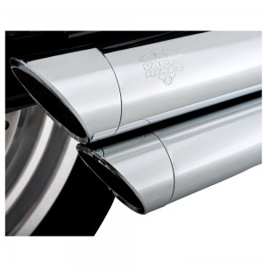 Vance & Hines Big Shots Staggered Chrome Exhaust - 17938      Hot Sale