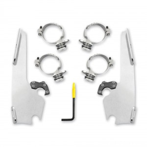 Memphis Shades Fats/Slims Polished Trigger Lock Mount Kit - MEK2013 | |  Hot Sale