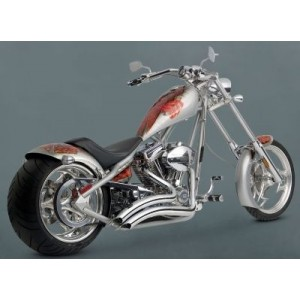 Vance & Hines Big Radius 2-into-2 Exhaust System Chrome - 26037 | |  Hot Sale