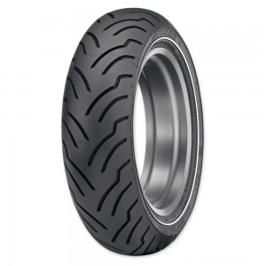 Dunlop American Elite 180/65B16 81H Narrow White Stripe Rear Tire - 45131818 | |  Hot Sale