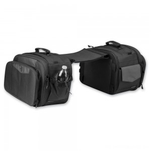 Kuryakyn Black Momemtum Outrider Throw-Over Saddlebags - 5209 | |  Hot Sale