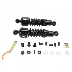 "Progressive Suspension 412 Black 12"" Heavy Duty Shocks - 412-4080B 
