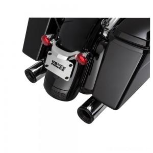 Vance & Hines Eliminator 400 Slip Ons Chrome with Black End Cap - 16706 | |  Hot Sale