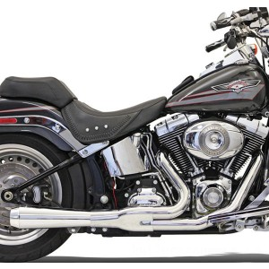 Bassani Road Rage 2-into-1 Short Megaphone Muffler Chrome - 12112J | |  Hot Sale