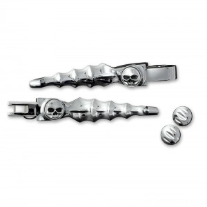Kuryakyn Chrome Zombie Lever Set - 1058 | |  Hot Sale