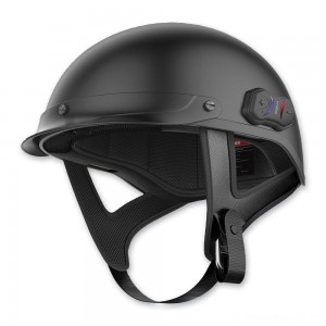 Sena Technologies Cavalry Bluetooth Matte Black Half Helmet - CAVALRY-CL-MB-S | |  Hot Sale