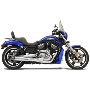Bassani Road Rage II B1 Series 2-into-1 Chrome Exhaust System - 1V18R | |  Hot Sale