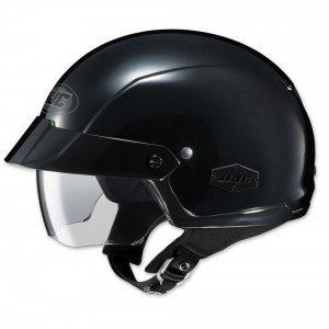 HJC IS-Cruiser Solid Black Half Helmet - 0824-0105-06 | |  Hot Sale