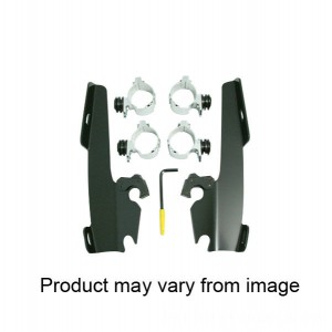 Memphis Shades Fats/Slims/Batwing Fairing Black Trigger Lock Mount Kit - MEB8967 | |  Hot Sale