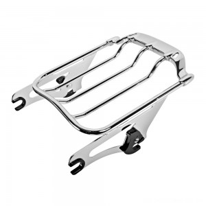 HogWorkz Chrome Air Wing Luggage Rack - HW129146 | |  Hot Sale