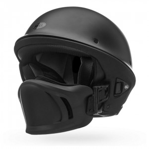 Bell Rogue Matte Black Half Helmet - 7000801 | |  Hot Sale
