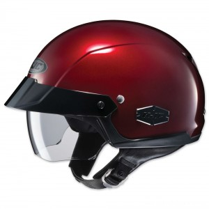 HJC IS-Cruiser Metallic Wine Half Helmet - 0824-0111-06 | |  Hot Sale