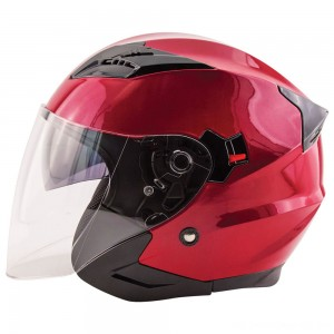 Zox Journey Wineberry Open Face Helmet - 88-33674 | |  Hot Sale