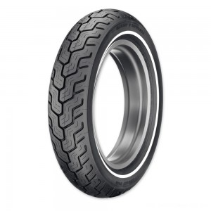 Dunlop D402 MU85B16 Narrow Whitewall Rear Tire - 45006751 | |  Hot Sale