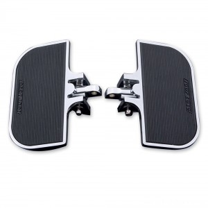 J&P Cycles Universal Chrome Mini-Floorboards | |  Hot Sale