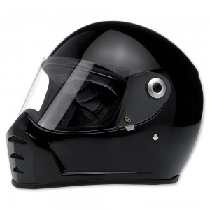Biltwell Inc. Lane Splitter Gloss Black Full Face Helmet - 1004-101-104 | |  Hot Sale
