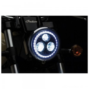 "Kuryakyn Orbit Vision 5 3/4"" LED Headlight - 2462 