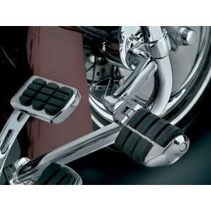 Kuryakyn Longhorn Offset Dually Highway Pegs with 1-1/4″ Magnum Quick Clamps - 4575      Hot Sale