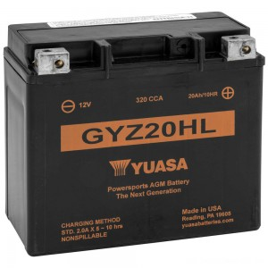 Yuasa GYZ-Series Batteries - YUAM720GH | |  Hot Sale