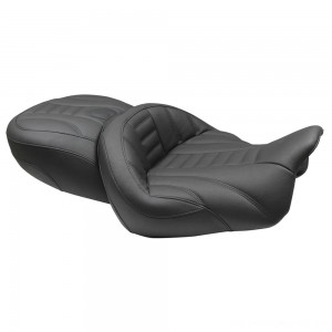 Mustang Super Touring Deluxe One-Piece Seat, Deluxe, Black - 76739 | |  Hot Sale