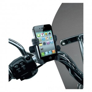 Kuryakyn Tech-Connect Complete Cell Phone or Device Handlebar Mount Kit - 1699 | |  Hot Sale