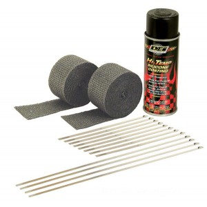 Design Engineering Inc. Motorcycle Exhaust Wrap Kit with Black Wrap - 010330 | |  Hot Sale