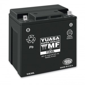 Yuasa Maintenance Free Battery - YIX30L-BS | |  Hot Sale