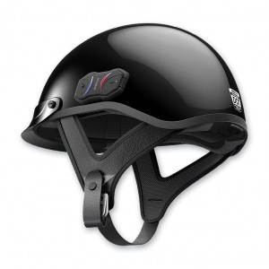 Sena Technologies Cavalry Bluetooth Gloss Black Half Helmet - CAVALRY-CL-GB-L | |  Hot Sale