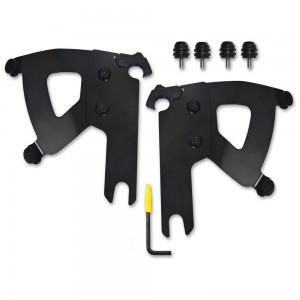 Memphis Shades Road Warrior Faring Black Trigger Lock Mount Kit - MEB2040 | |  Hot Sale