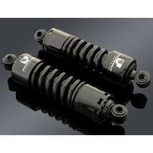 "Progressive Suspension 412 Black 12"" Standard Duty Shocks - 412-4036B 