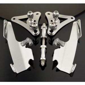 Memphis Shades Fats/Slims Polished Trigger Lock Mount Kit - MEM8974 | |  Hot Sale