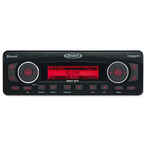 Jensen Heavy Duty Stereo Bluetooth and SiriusXM Ready - HD1BT | |  Hot Sale