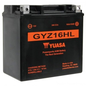 Yuasa GYZ-Series Batteries - YUAM716GHL | |  Hot Sale