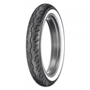 Dunlop D401 100/90-19 Wide Whitewall Front Tire - 45064215 | |  Hot Sale