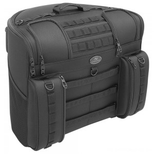 Saddlemen BR4100 Tactical Backrest Bag - EX00033A | |  Hot Sale